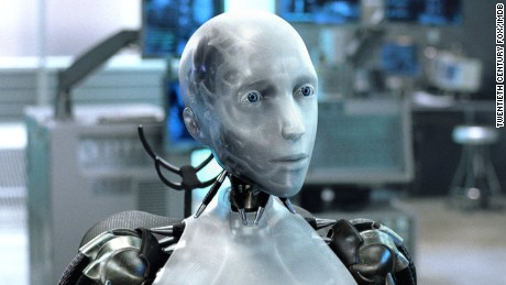 """I, Robot"" (2004), based on a selection of sci-fi shorts by author Isaac Asimov, explores the Three Laws of Robotics."