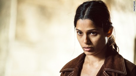 Freida Pinto in 'Guerrilla.'
