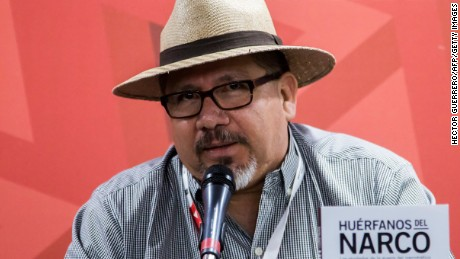 "Javier Valdez: ""I have told of the tragedy Mexico is living, a tragedy that should shame us."""