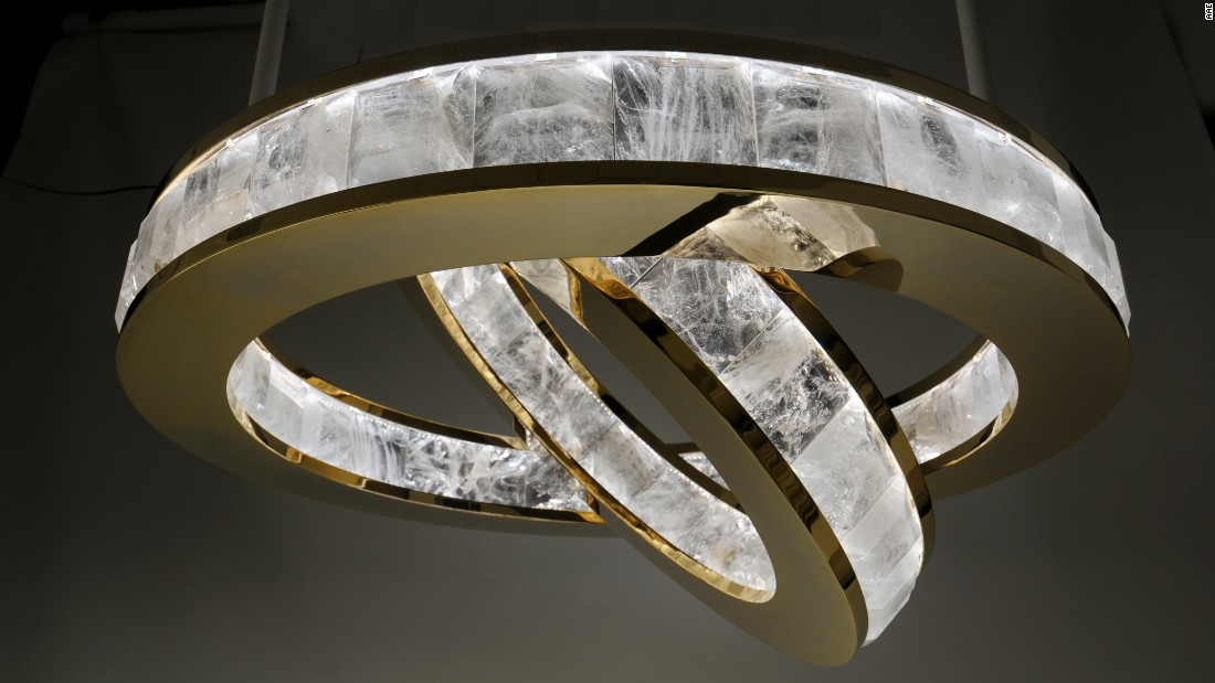 The Atelier has been creating alabaster lighting fixtures for more than 10 years.