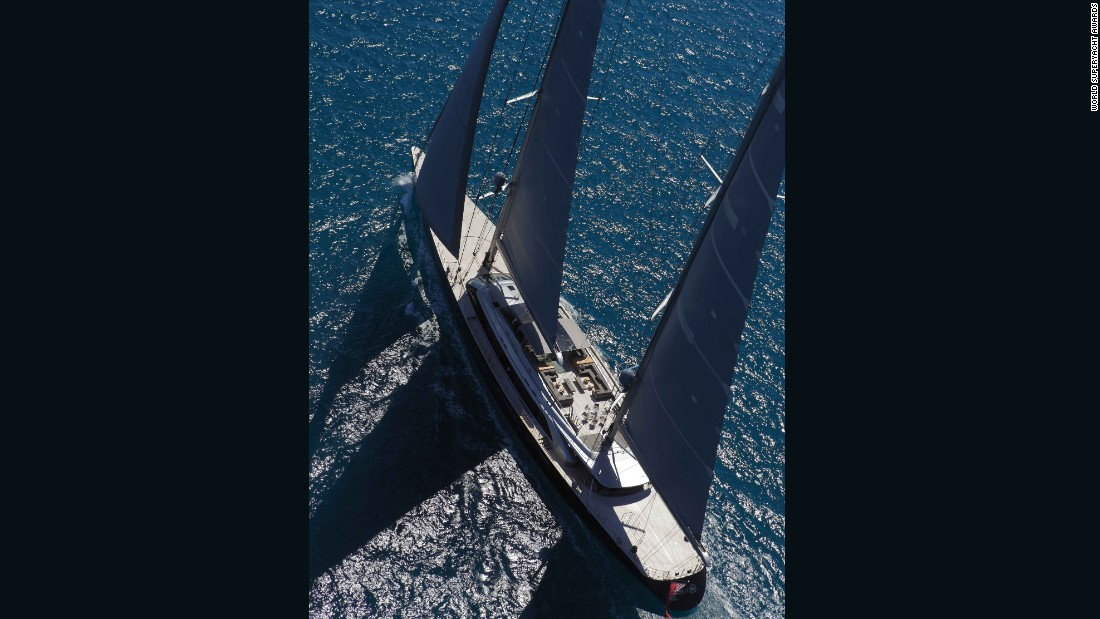 """Philippe Briand was selected to be the naval architect for Sybaris because he was seen five years ago as the person who would be regarded as the best naval architect today,"" owner Bill Duker said. ""The selection of Sybaris as the best sailing yacht in the 40-metres-plus category and the sailing yacht overall winner proves we were correct."""