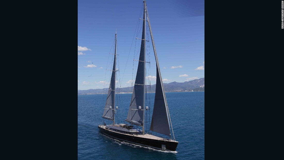 """Sybaris not only impressed the judges with its sailing ability, but also in the yacht's supreme comfort and optimum division of internal volume that entirely suits the owner's needs,"" the jury panel said. ""Beautiful, capable, comfortable, and technically advanced this is a yacht that was considered supreme for its purpose."""