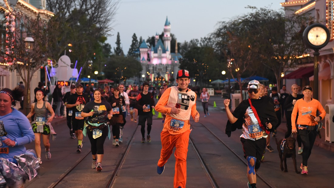 Most runners don costumes, like a fit-focused Comic-Con.