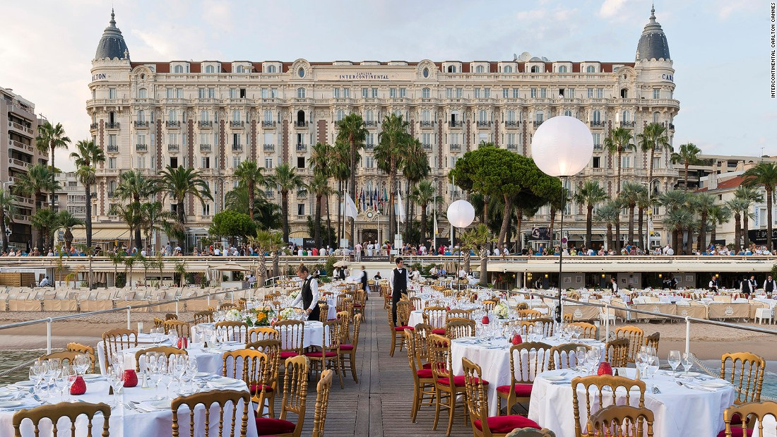 <strong>InterContinental Carlton Cannes: </strong>Opened in 1913, The Carlton Cannes, or InterContinental Carlton Cannes, is one of the city's most celebrated hotels.