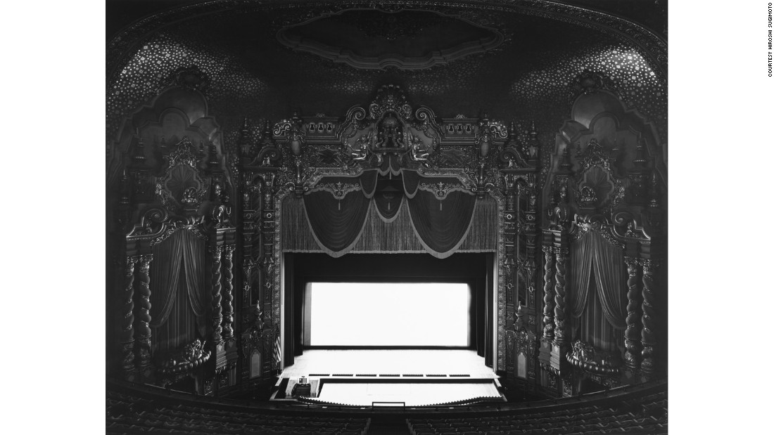 Since the 1970s, Japanese photographer Hiroshi Sugimoto has taken eerie photos in empty theaters around the world.