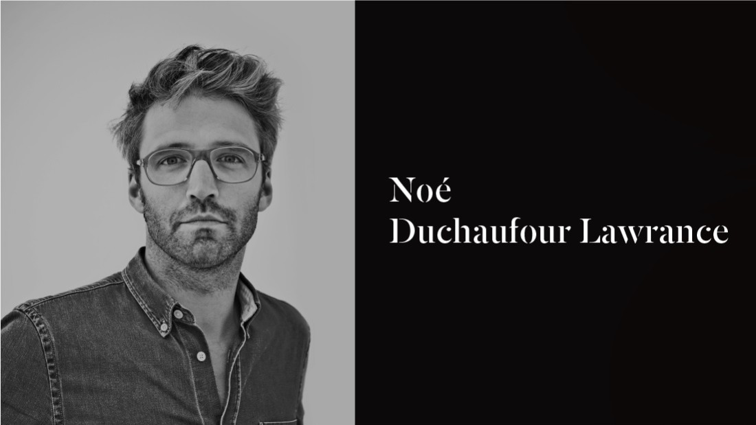 "Noé Duchaufour-Lawrance is a multidisciplinary designer and interior architect based in Paris. His work is strongly inspired by the complexity and continuity of nature. He established the creative studio Neonata, meaning ""new birth"" in Italian, in 2003."