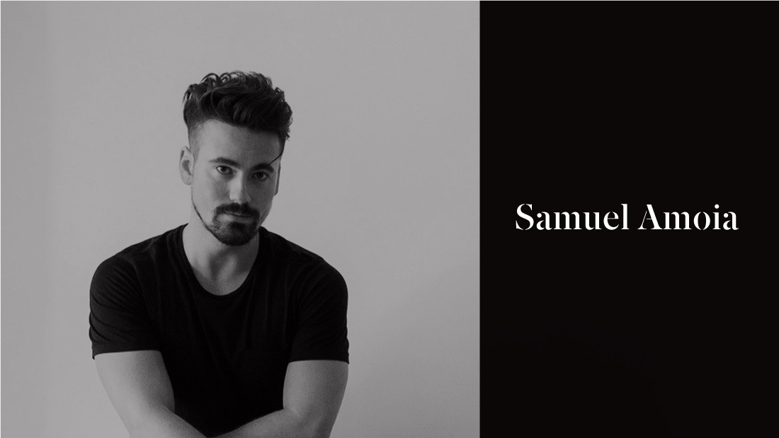Based in New York, Samuel Amoia received the Rising Talent award at the prestigious Maison & Objet fair in Paris in 2016.