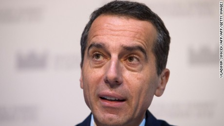 Austria's Chancellor Christian Kern is expected to lose his position.