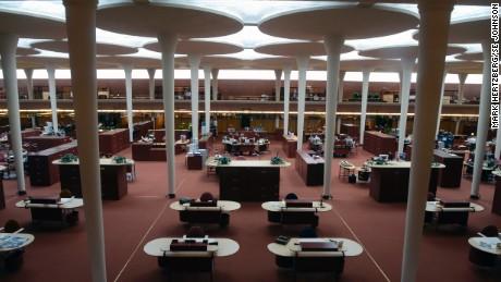 SC Johnson: The Frank Lloyd Wright-designed Administration Building.