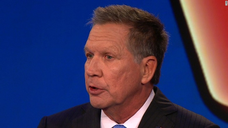 Bernie Sanders and John Kasich argue over whether Trump is a 'liar'
