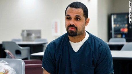 Rene Lima-Marin was serving a 98-year prison term for robbing two video stores in 1998.