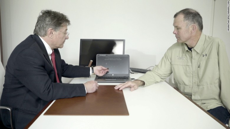 Bill Marlett with stem cell expert Dr. Eckhard Alt.