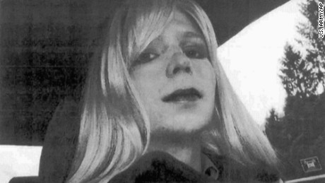Pfc. Chelsea Manning, a transgender soldier, was freed on Wednesday.
