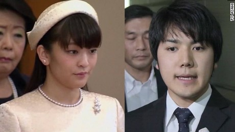 japan princess mako marrying commoner ripley pkg_00021104