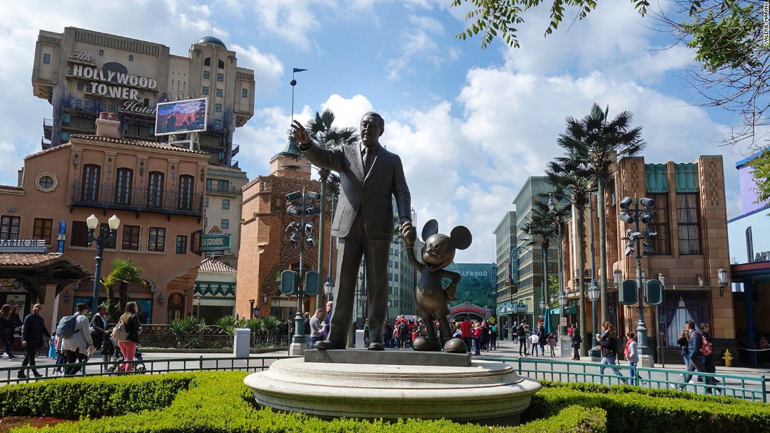 <strong>Partners statue:</strong> Walt Disney Studios Park is home to Disney's Partners statue of Walt and Mickey, found at Disney theme parks around the world.