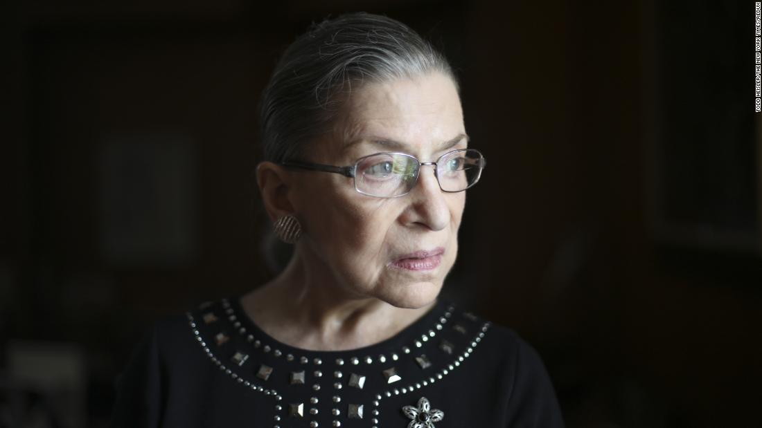 Ruth Bader Ginsburg is the second woman to serve on the US Supreme Court. Appointed by President Bill Clinton in 1993, she is a strong voice in the court's liberal wing.
