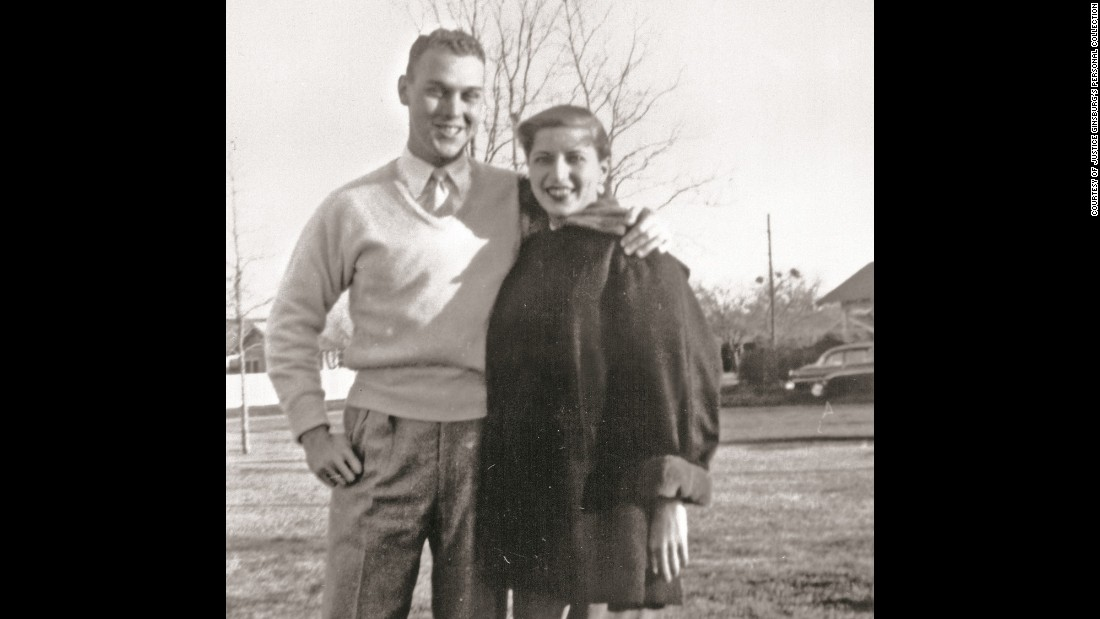 Ginsburg married her husband, Martin, in 1954. She was 21 at the time.