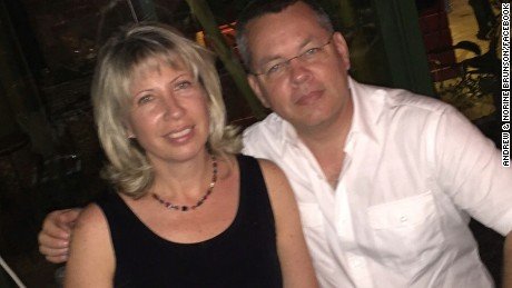 Pastor Andrew Brunson is among US citizens detained in Turkey.
