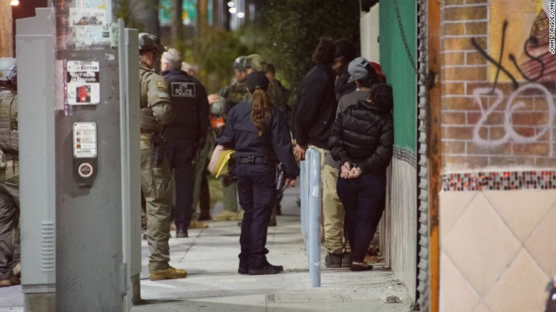 Authorities carried out the largest crackdown of MS-13 members in Los Angeles history. They also found suspected human trafficking victims of the gang.