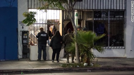 MS-13 gang targeted in pre-dawn sweep across Los Angeles