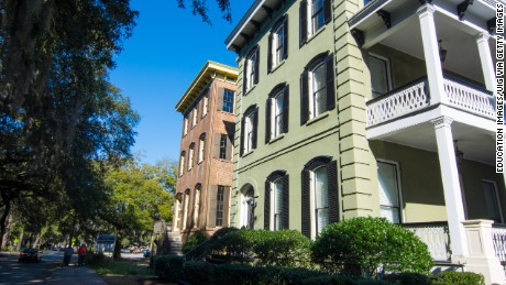 Savannah is a strolling city, where charming streets are lined with historic homes.