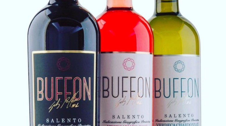 Buffon is not the only footballer with his own line in wine. Dutch footballer Wesley Sneijder has also invested.