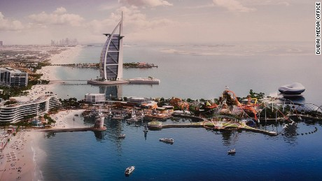 Dubai set to build $1.7b man-made islands Marsa Al Arab by 2020