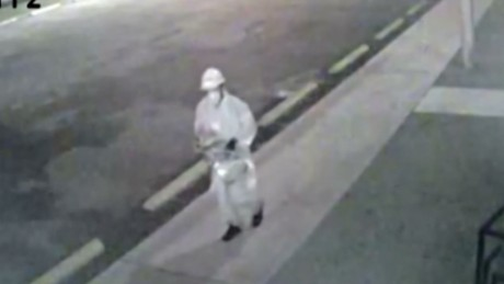Police seek mosque fire suspect