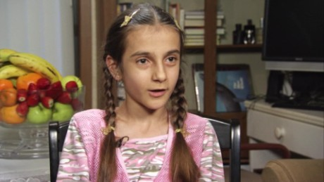 11 year old girl's journey from war-torn Syria_00000005