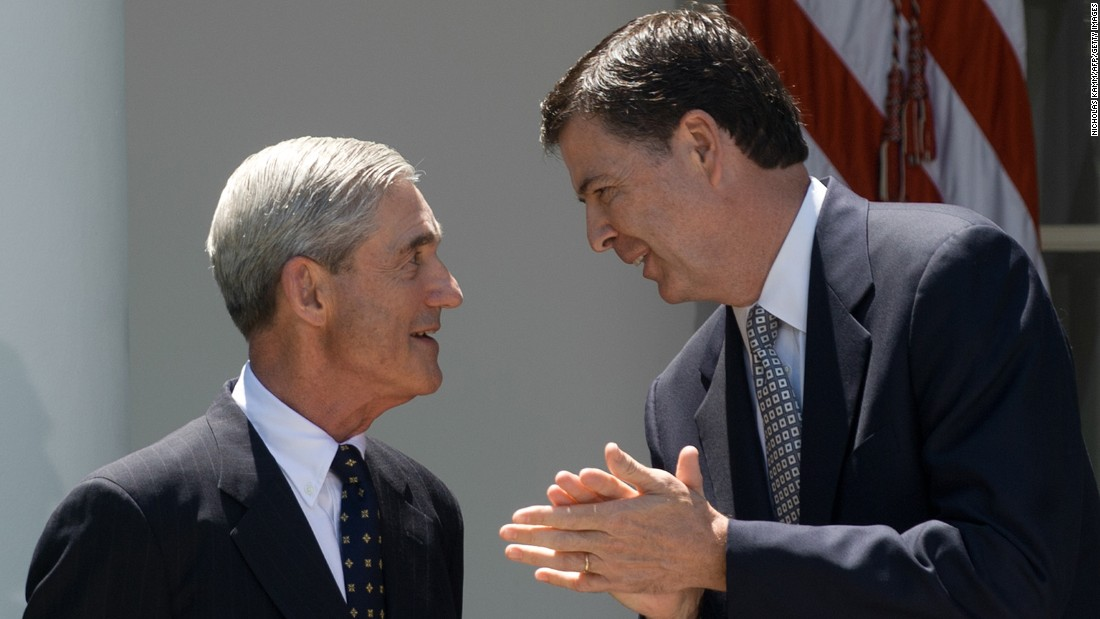 Image result for james comey mueller
