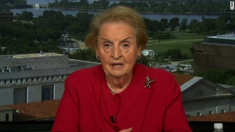 Madeleine Albright: We have a President who 'doesn't seem to do his homework'