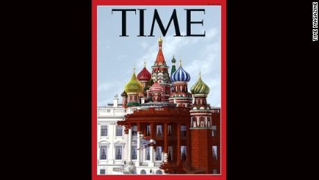 White House overtaken by Russian onion domes on new Time cover
