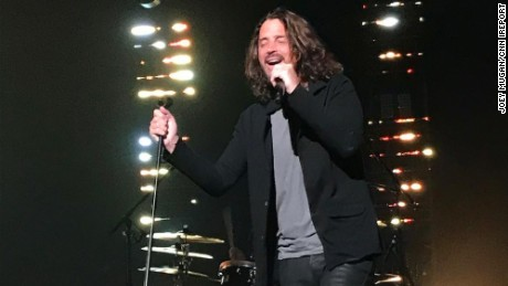 Chris Cornell performed with Soundgarden in Detroit on Wednesday, just hours before he died.