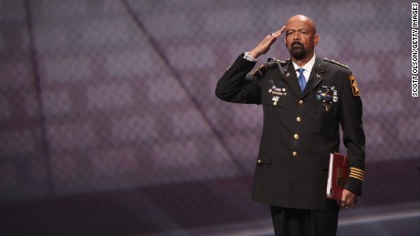 Who is controversial Milwaukee County Sheriff David Clarke?