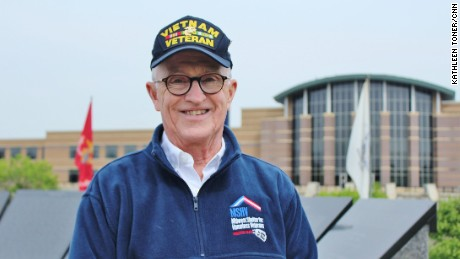 After overcoming alcoholism and homelessness, Vietnam vet Bob Adams became a social worker and started Midwest Shelter for Homeless Veterans, which provides nearly 400 veterans per year with assistance.