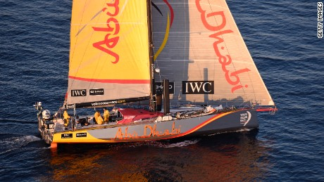 Abu Dhabi Ocean Racing, skippered by Ian Walker, won the 2014-2015 Volvo Ocean Race.