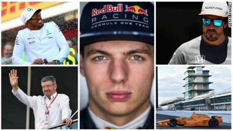 May: Barcelona with Verstappen, Alonso & Brawn