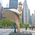 Marilyn Monroe sculpture chicago