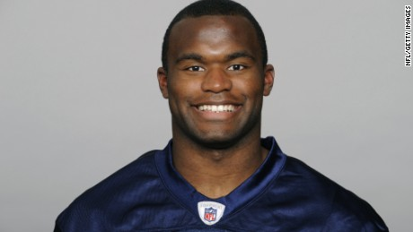 NASHVILLE, TN - CIRCA 2010: In this handout image provided by the NFL, Myron Rolle of the Tennessee Titans poses for his 2010 NFL headshot circa 2010 at Baptist Sports Park in Nashville, Tennessee. (Photo by NFL via Getty Images)