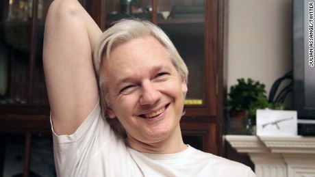 From Assange's Official Twitter