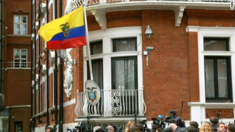 Julian Assange has been living in the Ecuadorian Embassy in London for almost five years.