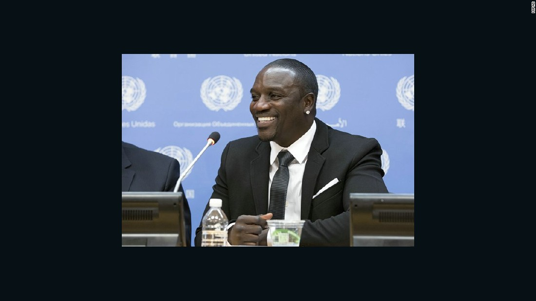 Akon Thiam is a singer, rapper, songwriter, businessman, record producer and actor of Senegalese descent.