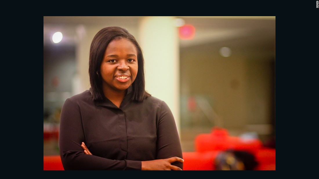 Nigerian Imeime Umana is the first black woman to serve as President of the Harvard Law Review.