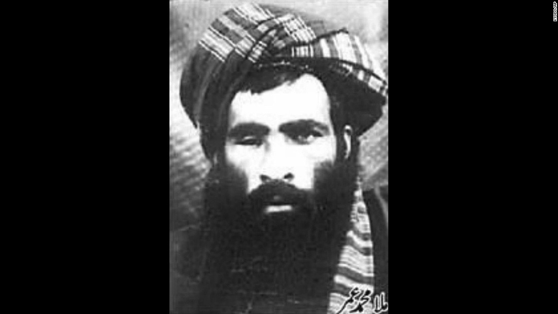 "Mullah Mohammed Omar, the man credited with creating the Taliban, is seen in this photo that spread in 2002. The Afghan government said in a news release that he died in Pakistan in 2013. The White House confirmed his death in 2015 but said ""the exact circumstances of his death remain uncertain."""