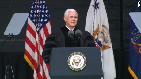 Vice President Mike Pence is the keynote speaker at Grove City College graduation ceremony on Saturday, May 20.