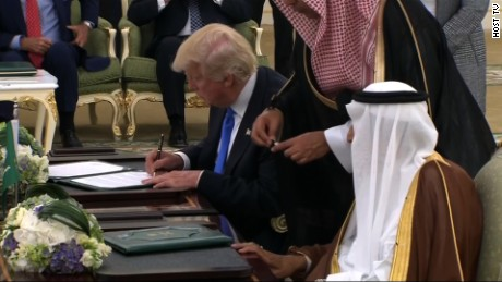 Saudi Arabia arms deal US Trump_00000000