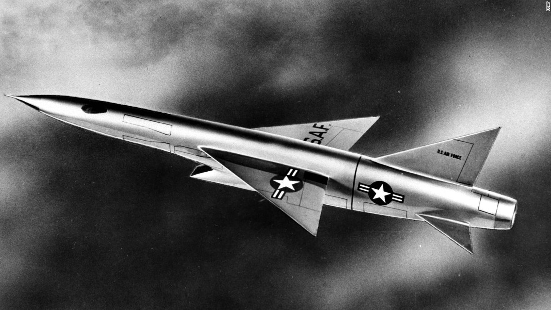 The Century Series didn't include an F-103. But there was one on the drawing board. Republic Aviation drew this illustration of an XF-103, which -- if it had been greenlighted -- would have been a single-seat jet designed to fly three times the speed of sound, about 2,300 mph -- faster than any fighter jet in regular service today.