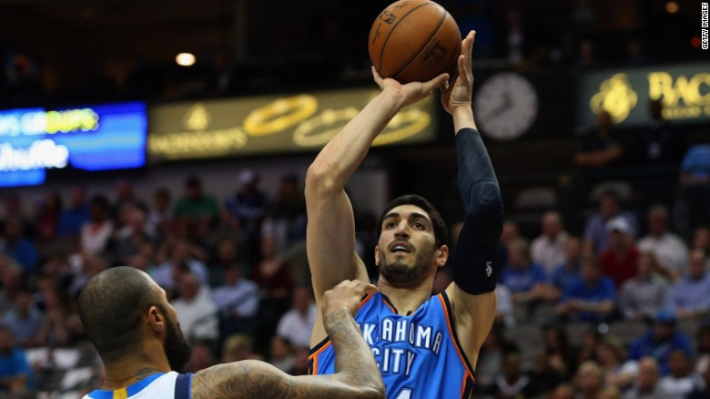 Romanian border police say Turkey canceled Oklahoma City Thunder's Enes Kanter's passport