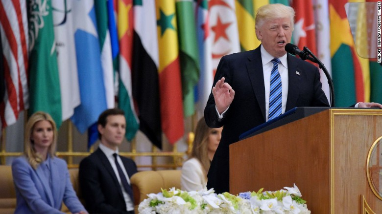 Trump's entire speech to Muslim world