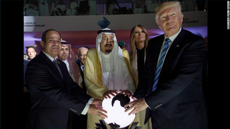 Trump in Saudi Arabia tells Muslims leaders to 'drive out' terrorists